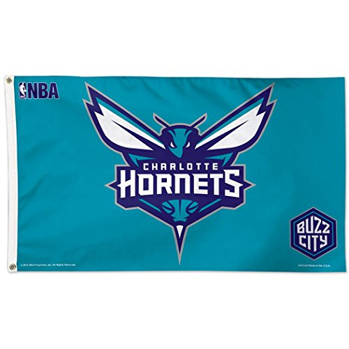 WinCraft NBA Charlotte Hornets Deluxe Flag, 3' x ()