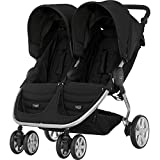 Britax B-AGILE DOUBLE Double Pushchair - Cosmos Black