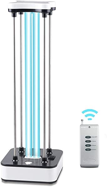 36W UVC Ozone Ultraviolet Germicidal Lamp Remote UV Sterilization Quartz Lights