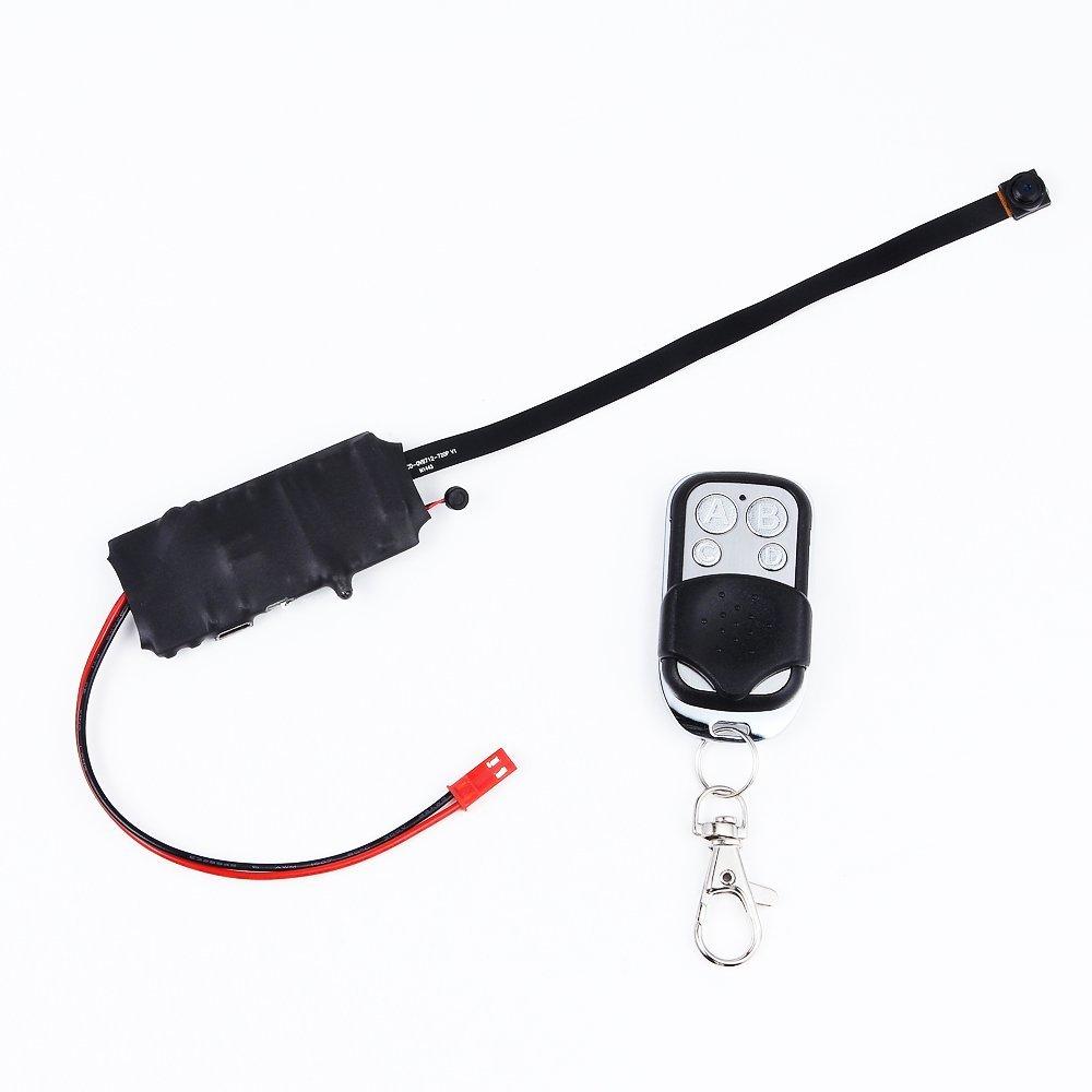 Mengshen Full HD 1920*1080P High Video Resolution Smallest Button Pinhole Spy Video Camera Mini Hidden Camera Motion Detection Remote Control 4000MAH Battery MS-HC08 [並行輸入品] B01KBR6IUW