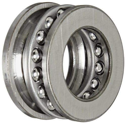 ection Thrust Bearing, 3 Piece, Grooved Race, 90° Contact Angle, ABEC 1 Precision, Open, Steel Cage, 25mm Bore, 42mm OD, 11mm Width, 6520lbf Static Load Capacity, 3570lbf Dynamic Load Capacity (Grooved Ball Bearing)