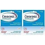 Clearasil Tinted Cream - 1 oz - 2 pk