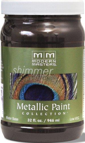 Modern Masters ME525-32 Metallic English Brown, 32-Ounce