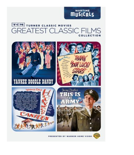 TCM Greatest Classic Films Collection: Wartime Musicals - Yankee Doodle Dandy / This is the Army / Thank Your Lucky Stars / Hollywood - Set Box Star Lucky