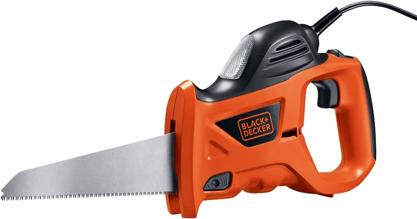 BLACK+DECKER Electric Hand Saw Great interest with 3.4-Amp Large-scale sale Bag PHS550 Storage