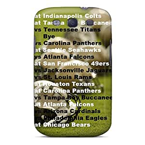 Great Cell-phone Hard Covers For Samsung Galaxy S3 (DUW2104WFmO) Unique Design Attractive New Orleans Saints Image