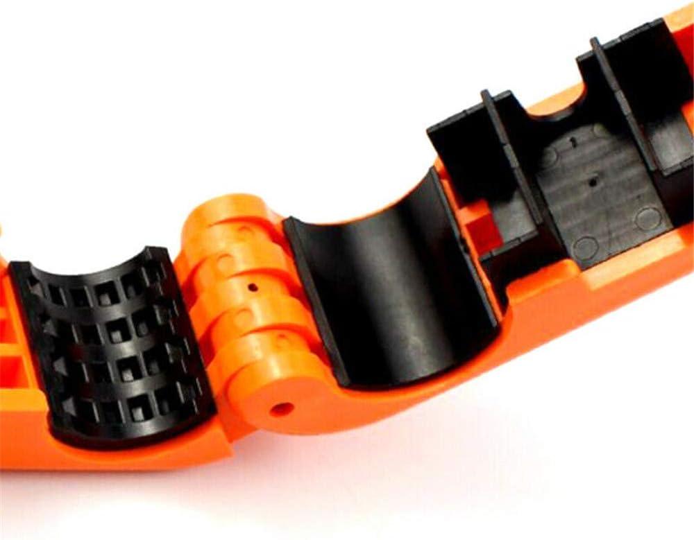Naranja Flower Manillar De La Motocicleta Barra De Agarre Palanca De Freno Bloqueo Anit Robo Seguridad Caps-Lock Seguridad Anit-Theft Protection 1 Piezas