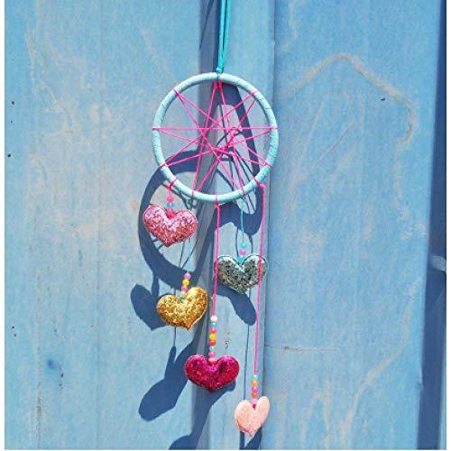 FBXSBHG Car Pendant Love Decoration Hanging Jewelry car Interior Wind Chime Hanging Decoration Gift 1pcs