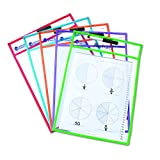 Learning Resources LER0477 Write and Wipe Pockets
