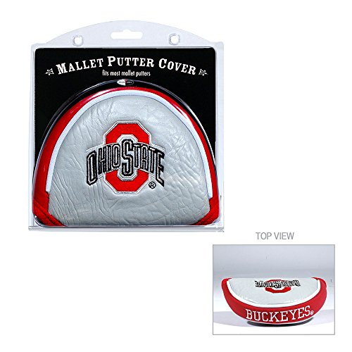 State Mallet Putter Cover - Team Golf Ohio State Buckeyes Official NCAA Golf Mallet Putter Cover 228314