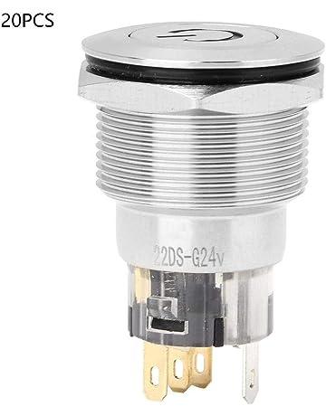 3 Positions Ronis 455 Dans Toutes les Positions 22 mm Diam/ètre de Fixation Schneider Electric ZB5AG0 Noir Harmony T/ête de Bt-tournant /à Cl/é
