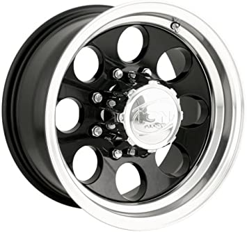 Ion Alloy 171 Black Wheel with Machined Lip 15x10//5x139.7mm
