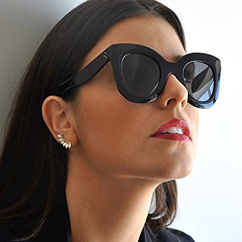 Sunglasses Three Dots Gradient JackJad 2017 New Fashion Trend Women Vintage Butterfly - Glasses Trends New