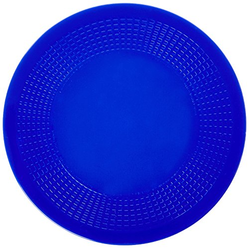 Dycem Pad - Dycem Pads & Activity Pads, Round, Textured, Blue, 7-1/2