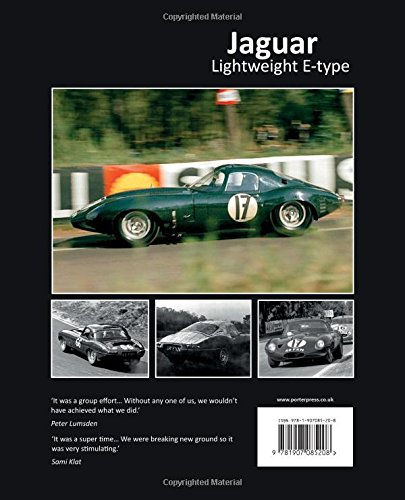 Jaguar Lightweight E-type: The autobiography of 49 FXN (Great Cars)