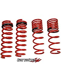 Tanabe TDF122 DF210 Lowering Spring with Lowering Height 1.8/1.3 for 2007-2007 Honda Fit