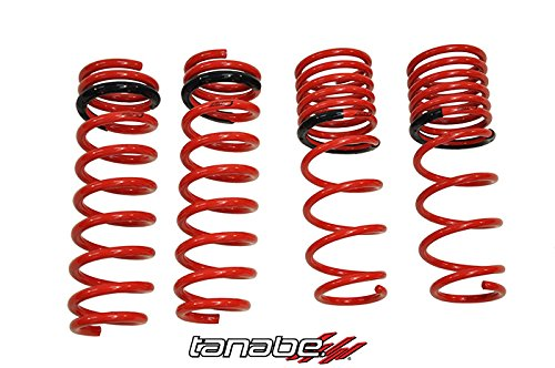 Tanabe TNF113 NF210 Lowering Spring with Lowering Height 1.0/1.4 for 2006-2009 Lexus IS250 AWD, Lowering Height 0.7/0.7 for Lexus IS250 RWD and Lowering Height 0.8/1.0 for 2006-2007 Lexus IS350 (Tanabe Sustec Nf210 Lowering Springs)