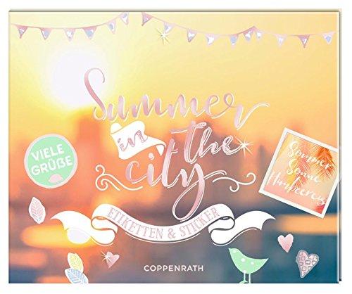 Stickerbuch - Summer in the city: Etiketten & Sticker