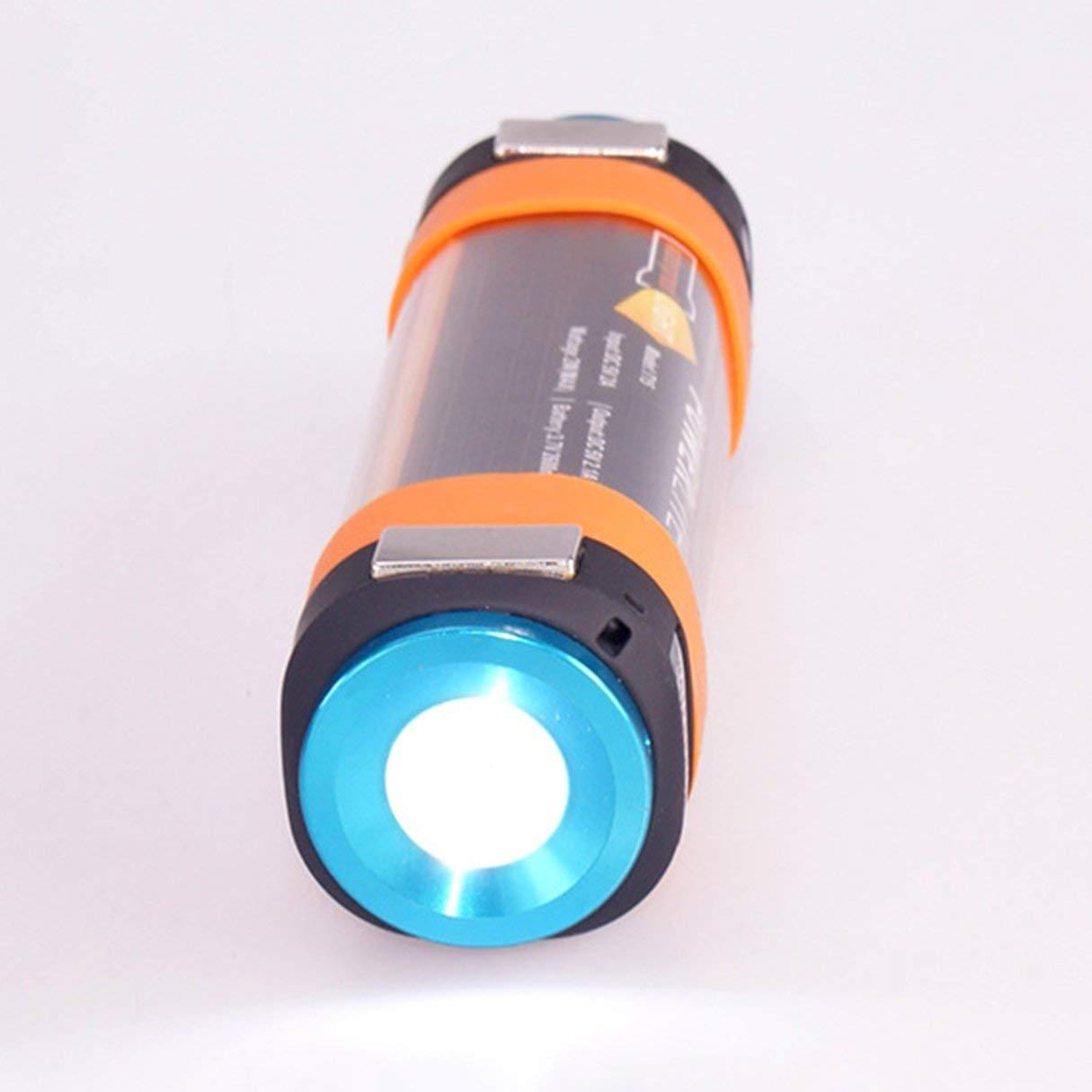 Multifuncional USB de Impermeable Al Aire Libre Antorcha de USB Viaje Linterna Que Acampa Senderismo Luz de Emergencia Portátil Para Desplazar Mosquitos 671893