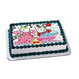 Max & Ruby Bunnies Edible Cake Topper Personalized Birthday 1/4 Sheet Decoration Custom Sheet Party Birthday on Wafer Rice Paper