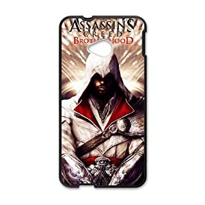 Classic Case Assassin's Creed pattern design For HTC ONE M7 Phone Case