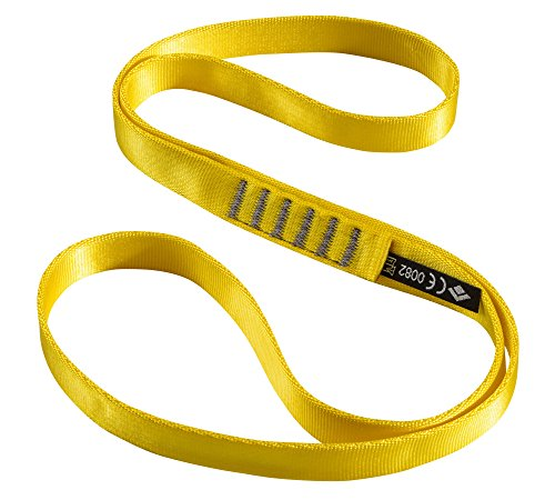 Black Diamond 18mm Nylon Runner Gold 60cm and HDO Lite E-tip Gloves with Grippers