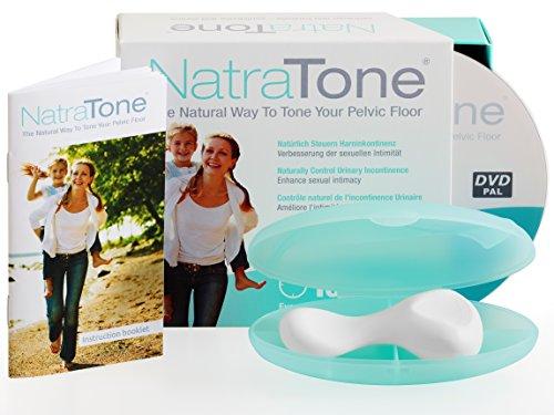 Natratone - Pelvic Floor Muscle Strengthening Device & Exercise Program for Incontinence & Bladder Leakage (Pelvic Floor Exerciser)