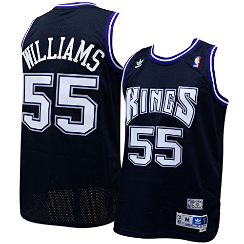 Sacramento Kings Jason Williams Soul Adidas Swingman Jersey (M)