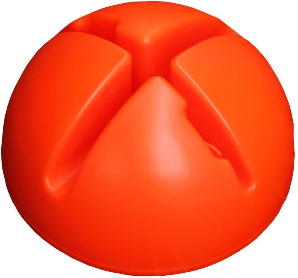Farbe: orange Agility Hundesport /Ø 25 mm X-Standfu/ß mit Stange 160 cm