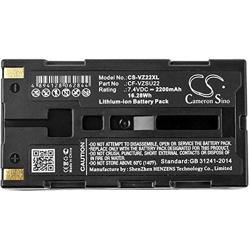 Cameron Sino Replacement Battery for SATO MB200, MB200i (2200mAh) ()