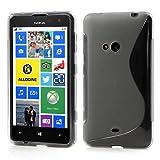 JUJEO for Nokia Lumia 625 TPU Gel Case S Shape Design