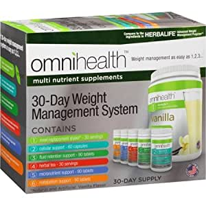 Amazon.com: OmniHealth 30 Day Weight Management System ...