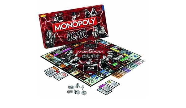 AC/DC Monopoly by Monopoly: Amazon.es: Juguetes y juegos
