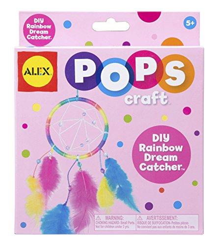 ALEX Toys POPS Craft Rainbow Dream Catchers