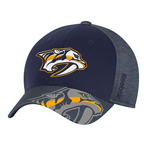 NHL Nashville Predators Men's Playoff Team Cap, Navy ,Small/Medium