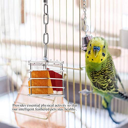 Bird Toys - Style Parrot Pet Bird Cage Hanging Aging Intelligence Growth - Electronic Trim Bulk Hangers Perch Small Hanging Ladder Music Extra Parakeet Plastic Pinata Bridge Girls Supplie by MH-ACCESSORIES