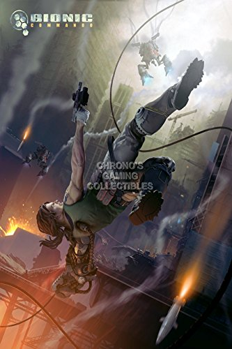 "Price comparison product image CGC Huge Poster - Bionic Commando Sony Playstation XBOX 360 - OTH129 (24"" x 36"" (61cm x 91.5cm))"