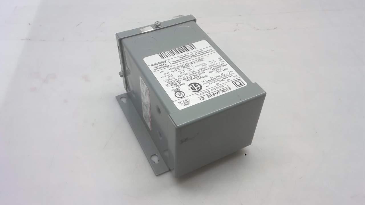 SCHNEIDER ELECTRIC 100SV1A Xfmr Dry 1 Ph .1Kva 240X480-Volt-120//240-Volt