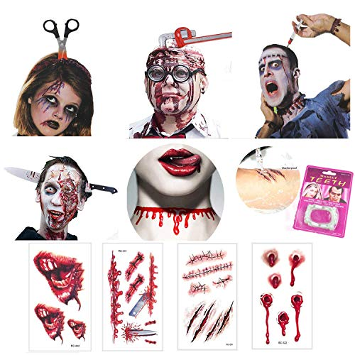 Nice Halloween stickers and decorations