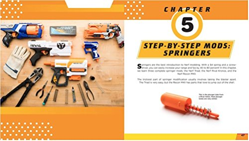 The Nerf Blaster Modification Guide: The Unofficial Handbook for Making Your Foam Arsenal Even More Awesome by Young Voyageur (Image #3)