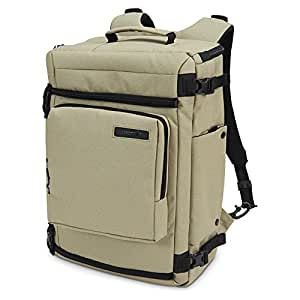Pacsafe Camsafe Z25 Anti-Theft Camera and 15-Inch Laptop Backpack, Slate Green