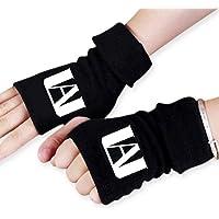 Guantes My Hero Academia, guantes sin dedos unisex cálidos de invierno, guantes de punto elásticos para fanáticos de MHA…