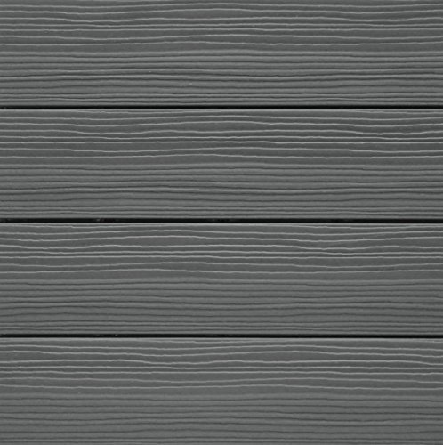 NewTechWood QD-PK-GY UltraShield 12-Inch x 12-Inch  Composite Quick Deck Tile, Gray