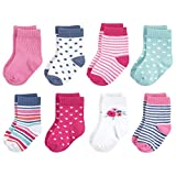 Touched by Nature Baby Organic Cotton Socks, Garden