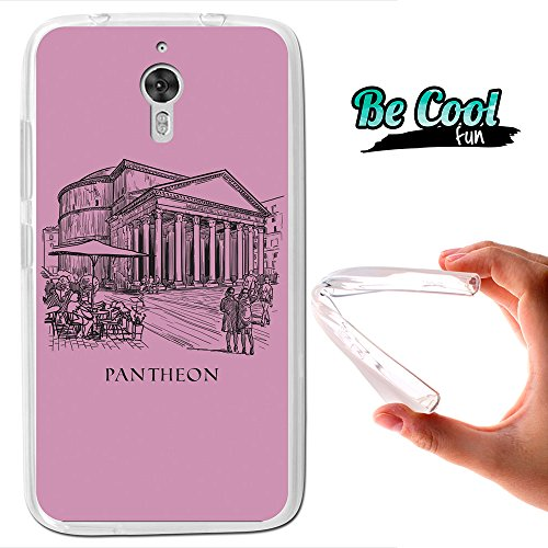 Becool - Cover Gel Flexible Archos Diamond 2 Note, TPU Case made out of the best Silicone, protects and adapts flawlessly to your Smartphone, together with our exclusive designs. Pantheon.