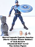 Review: Marvel Legends Captain America (Movie version Winter Soldier) 6