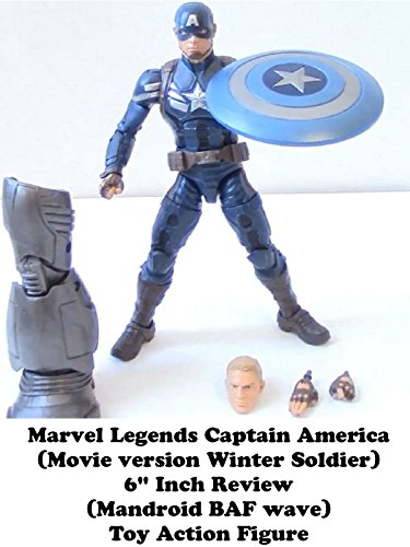 Review: Marvel Legends Captain America (Movie version Winter Soldier) 6