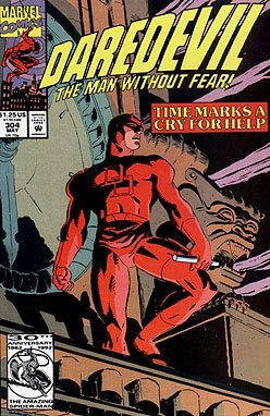 Daredevil #304 (Time Marks a Cry for Help, #304)