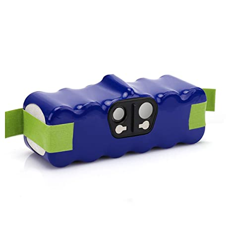 morpilot Batería Xlife de Reemplazo para iRobot Roomba, 14.4V 4050mAh Vida Extendida de 1000 Ciclos Compatible con iRobot Roomba Series 500 600 700 ...