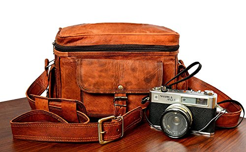 2018 Hot Sale ! DSLR/SLR Leather Camera Bag Artishus | Nikon
